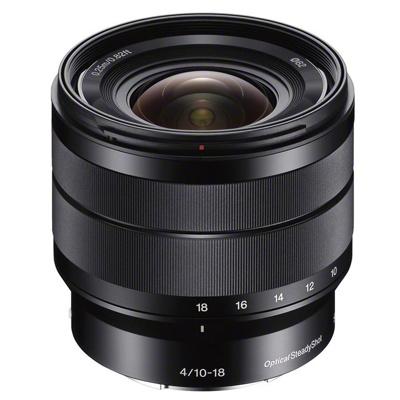 Afbeelding van Sony E 10 18mm f/4.0 OSS objectief (SEL1018.AE)