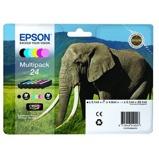 Afbeelding vanInktcartridge Epson 24 T2428 foto HD zwart + 5 kleuren Supplies