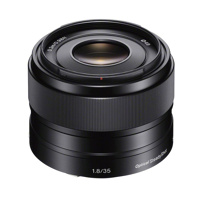 Thumbnail of Sony 35mm F1.8 Optical Steadyshot E mount