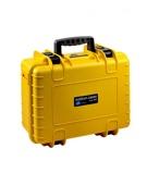 Afbeelding vanB&W Outdoor Case Type 4000 Geel met Plukschuim