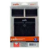Afbeelding vanJupio Kit met 2x Batterij LP E6 1700mAh + USB Dubbelader