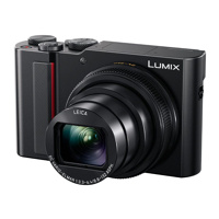 Thumbnail of Panasonic Lumix DC TZ200 compact camera Zwart