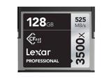 Afbeelding vanLexar 128GB CFast Professional 2.0 3500x 525MB/s geheugenkaart