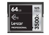 Afbeelding vanLexar CFast Pro 64GB 3500x Geheugenkaart