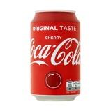 Afbeelding vanCoca Cola cherry blik 33 cl