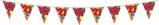 Afbeelding vanAmigo Vlaggenlijn ballonnen: 21 jaar 10 meter