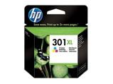 Afbeelding vanHP 301XL (CH564EE) Inktcartridge 3 kleuren Hoge capaciteit