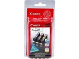 Afbeelding vanCanon CLI 521C/M/Y Inktcartridge 3 kleuren Voordeelbundel