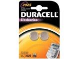 Afbeelding vanDuracell 2025 cr2025 lithium 3 volt bp1 blister 2 stuks