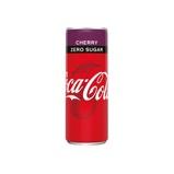 Afbeelding vanCoca cola energy cherry no sugar blik 25 cl