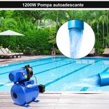 Immagine diCostway 1200W Pompa autoadescante da giardino Pompa ad acqua elettrica 230V Blu
