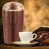 Immagine diCostway 150W Macinacaffè elettrico con lame in acciaio Inox 12x10x18cm Caffè