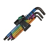 Afbeelding vanWera 950 SPKL/9 SM N SB 9 Delige Hex plus multicolour inbussleutel 1.5 10mm