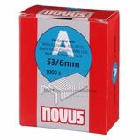 Afbeelding vanNovus 042 0516 Nieten A53 Dundraad 6mm (5000st)
