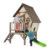 Afbeelding vanSunny Kinderspeelhuis Cabin XL met glijbaan C050.004.00