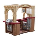 Afbeelding vanStep2 Speelgoedkeuken open keuken en grill 119 cm bruin