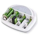 Afbeelding vanAnsmann Basic 5 Plus oplader voor AA, AAA, 9V, C en D batterijen