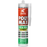 Afbeelding vanGriffon Poly Max Fix & Seal Express Crystal Clear Koker 300 Gram