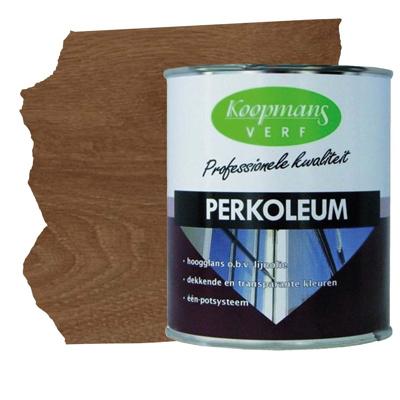 Afbeelding van Koopmans perkoleum (214) transp. donker eiken 750 ml