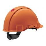 Afbeelding van3M Peltor G3000CUV OR Veiligheidshelm met pinlock Oranje Plastic sweatband