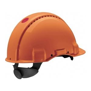 Afbeelding van 3M Peltor G3000CUV OR Veiligheidshelm met pinlock Oranje Plastic sweatband