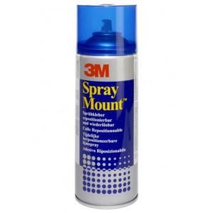 Afbeelding van Lijm 3M Spraymount Spuitbus 400ml Lijmen In