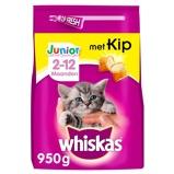 Afbeelding vanWhiskas Brokjes Junior Kip Kattenvoer 950 g