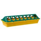 Afbeelding vanOlba Kuikenvoerbak Plastic Geel&Groen Voerbak 30 cm
