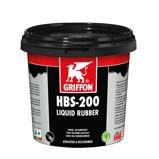 Afbeelding vanGriffon vloeibaar rubber hbs 200 liquid 1 l, zwart, pot
