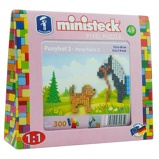 Afbeelding vanMinisteck ponyfarm 2 box 300 delig