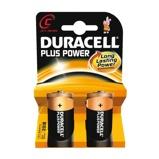 Afbeelding vanDuracell Plus Power MN1400 C batterij 2 pack niet oplaadbaar 1,5 volt