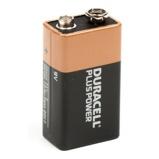 Afbeelding vanDuracell Plus Power blokbatterij niet oplaadbaar 9 volt