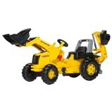 Afbeelding vanRolly Toys RollyJunior New Holland Construction met Frontlader en Graafmachine