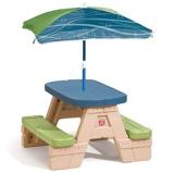 Afbeelding vanStep2 Sit & Play picknicktafel en parasol