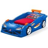 Afbeelding vanStep2 Hot Wheels Race Car bed