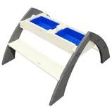 Afbeelding vanAXI Picknicktafel voor kinderen Delta grijs en wit A031.023.00