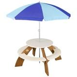 Afbeelding vanAXI Picknicktafel voor kinderen Orion bruin en wit A031.024.00