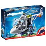Afbeelding vanPLAYMOBIL City Action 6921 Politiehelikopter met LED zoeklicht