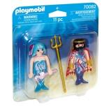 Afbeelding vanPlaymobil Duo Pack Duopack Zeekoning en meermin 70082