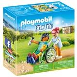 Afbeelding vanPLAYMOBIL City Life 70193 Patient in Rolstoel