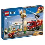 Afbeelding vanLEGO City Brand bij het hamburgerrestaurant 60214