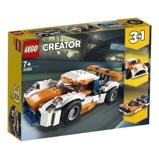 Afbeelding vanDekoleidenschaft Lego Creator 31089 3in1 Baanracer