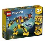 Afbeelding vanLEGO Creator 31090 3in1 Onderwaterrobot