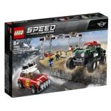 Afbeelding vanLEGO Speed Champions 1967 MINI Cooper S Rally en 2018 John Works Buggy racewagens 75894
