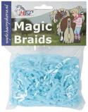Afbeelding vanHarry's Horse Magic Braids elastiekjes (Kleur: blauw)