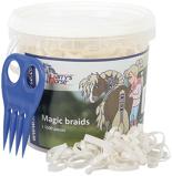 Afbeelding vanHarry's Horse Magic Braids invlechtset (Kleur: wit)