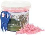 Afbeelding vanHarry's Horse Magic Braids invlechtset (Kleur: roze)