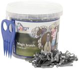 Afbeelding vanHarry's Horse Magic Braids invlechtset (Kleur: zilver)