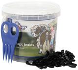 Afbeelding vanHarry's Horse Magic Braids invlechtset (Kleur: zwart)