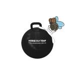 Afbeelding vanHorse Fly Trap Ball Anti insect 45 cm Zwart